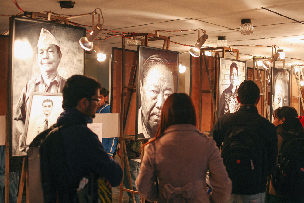 'Our Gurkhas' exhibited at the 2012 Kathmandu International Mountain Film Festival.