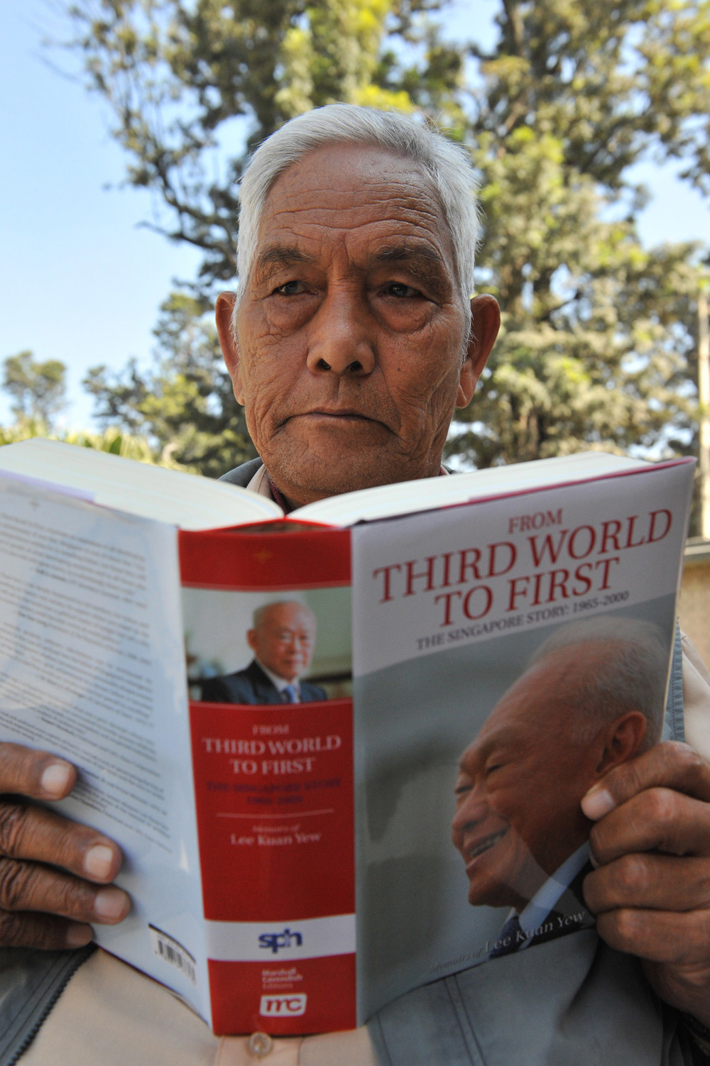 Retired Singapore Gurkha Tulsi Prasad Gurung