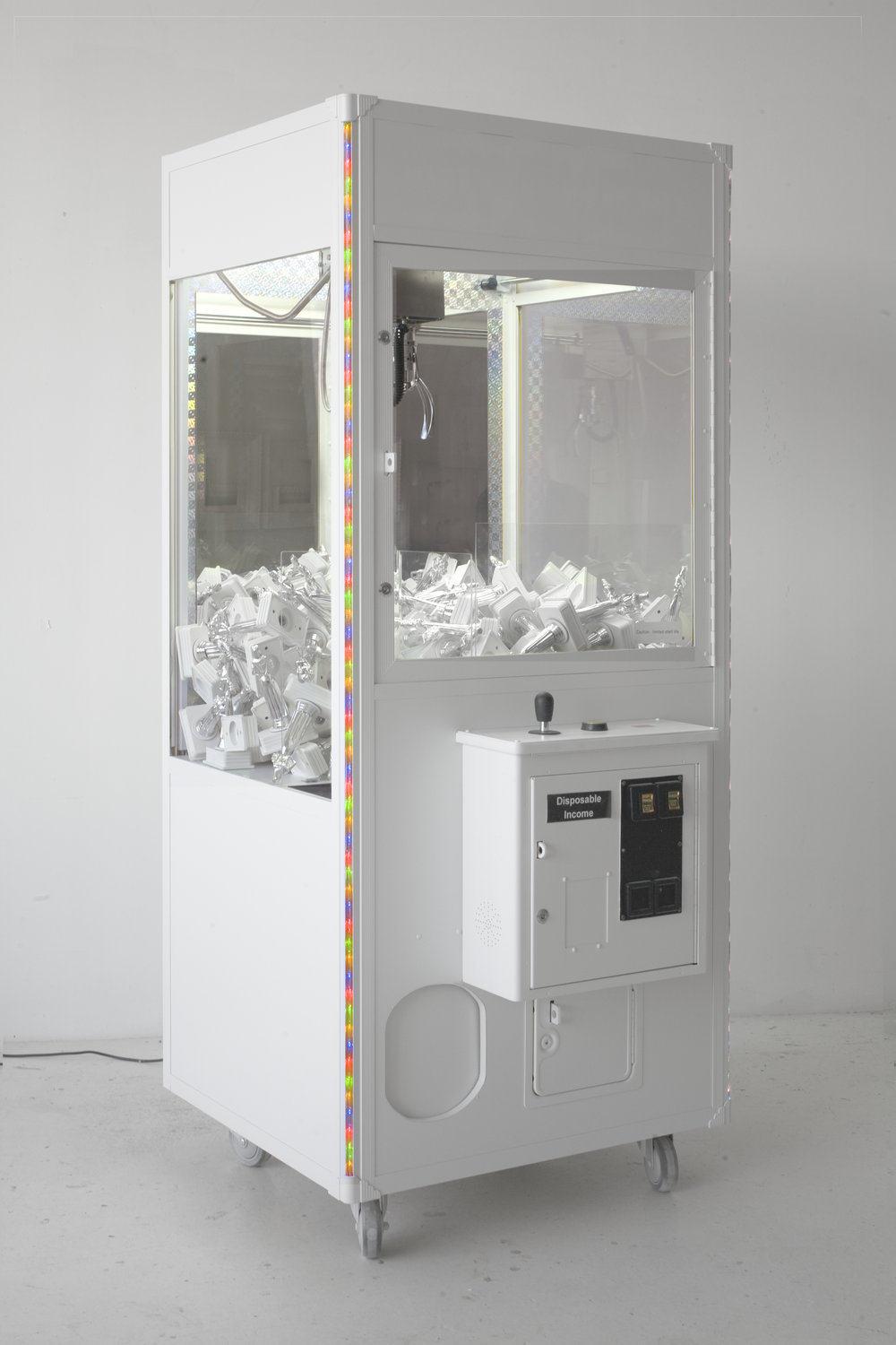 Beauty Queen Vending Machine , 2009  Mixed media installation  75 x 32 x 28 inches