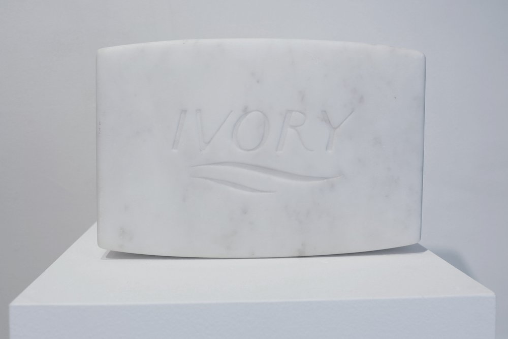 PURE Marble Medium , 2018  Solid Carrara marble  12.75 x 8.75 x 4.75 inches