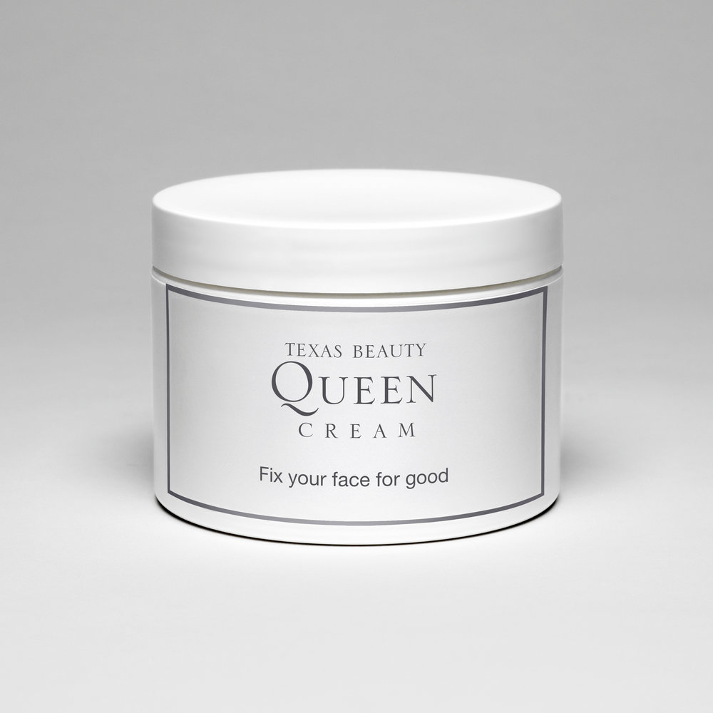 Texas Beauty Queen Cream (Fix your face for good) , 2009  Archival photographic print  12 x 12 inches