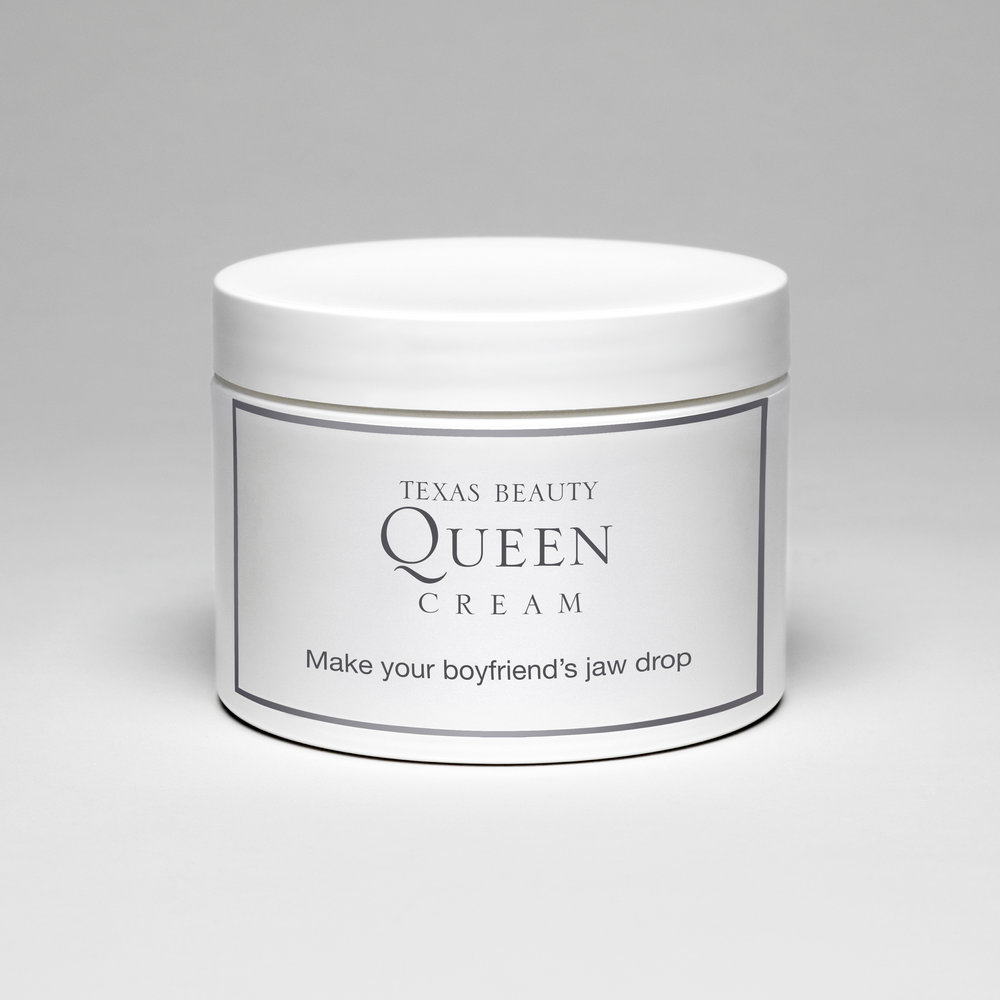 Texas Beauty Queen Cream (Make your boyfriend's jaw drop) , 2009  Archival photographic print  12 x 12 inches