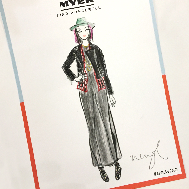 fashion illustration ootd vogue myer