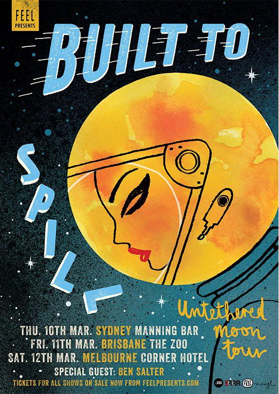 Built to Spill_poster_NerylWalker