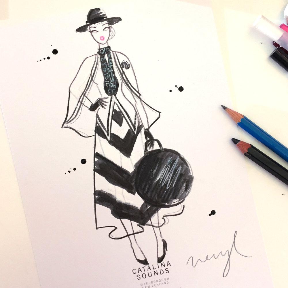 Neryl Walker_fashionillustrator
