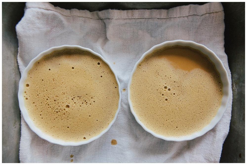 Espresso Hazelnut Crème Brûlée