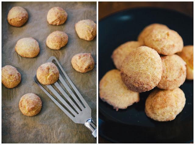 butternut squash snickerdoodles