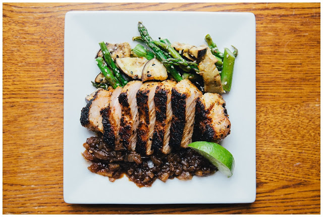Miso Crusted Pork Chops