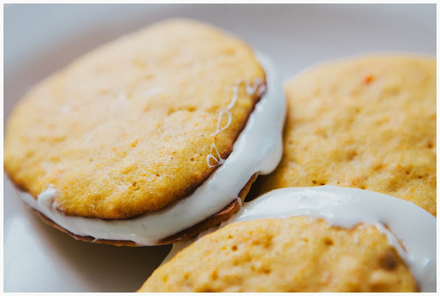 Yam and Marshmallow Whoopie Pies