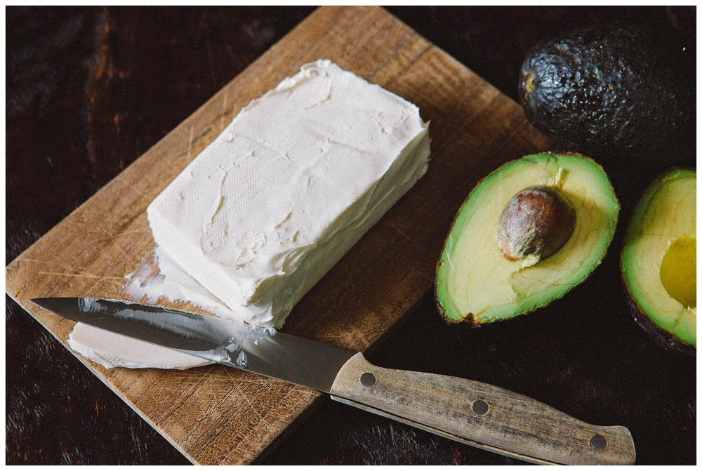 avocado cream cheese