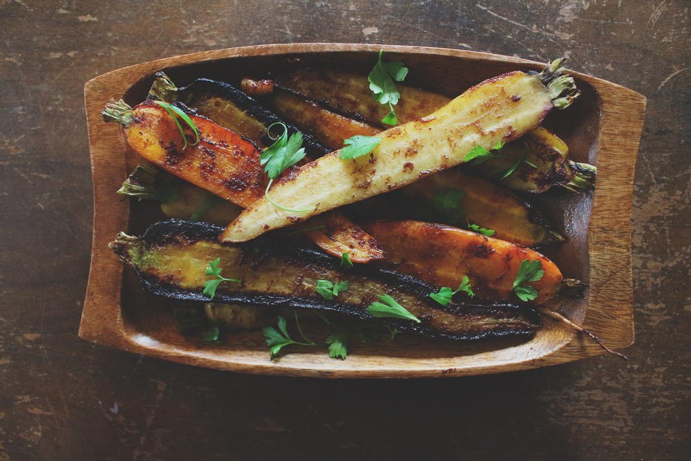 Roasted Spiced-Carrots