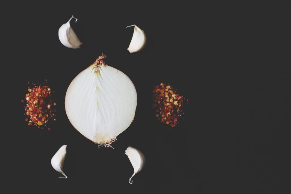 Spices, Onion, Garlic