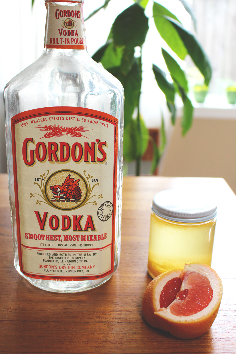 Grapefruit Vodka