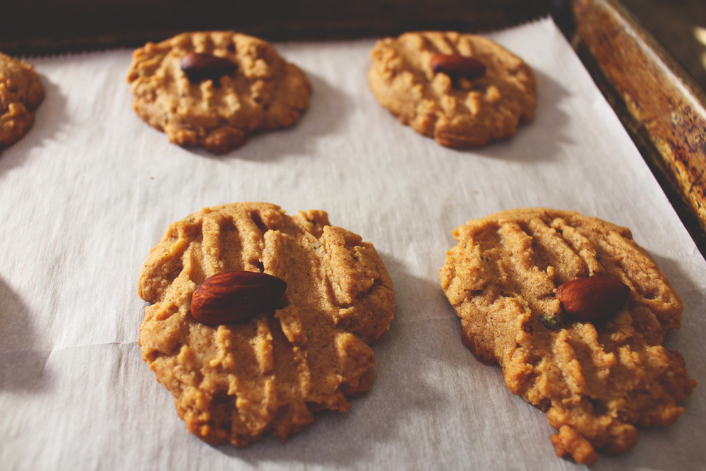 Almond Butter & Sage Cookies