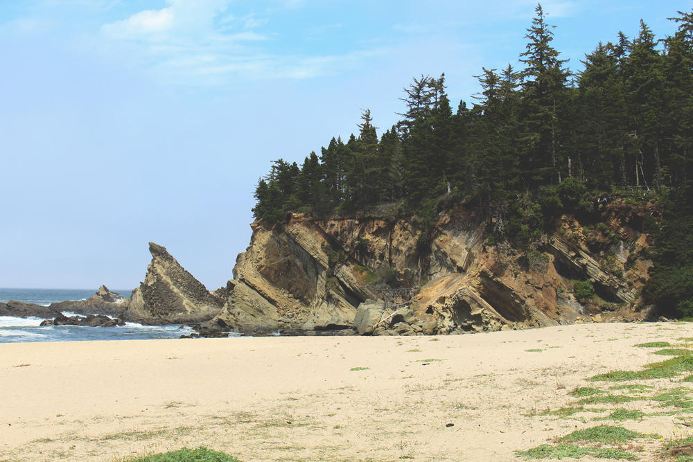 Simpson Beach, Oregon