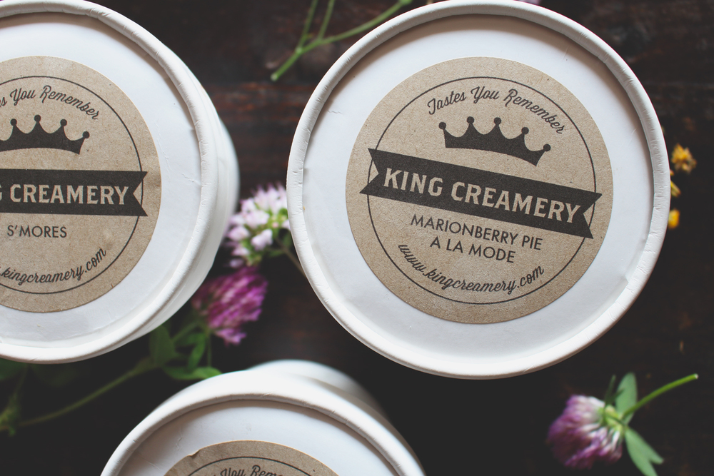 Marionberry Pie Ice Cream