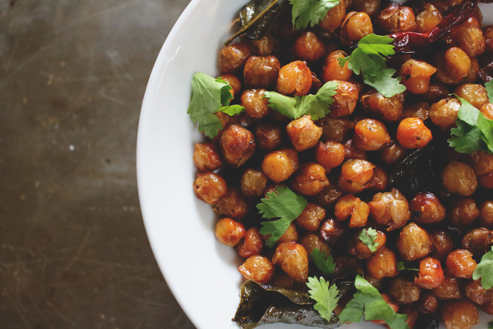 Thai-Spiced Roasted Chickpeas