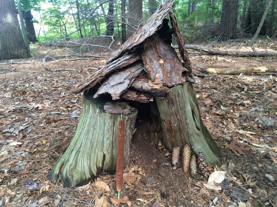 Fairy House at Deer Island