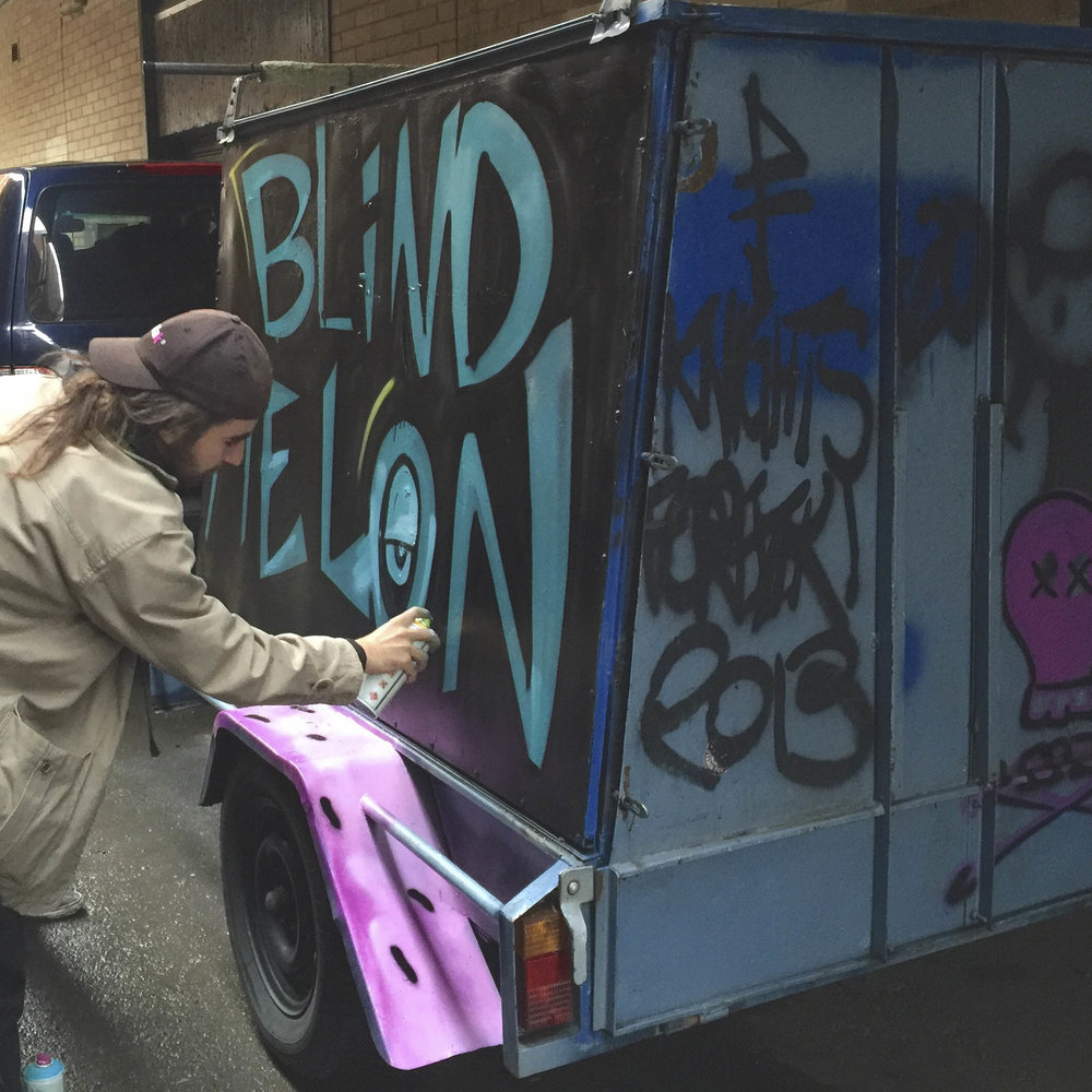 The Bennies tour trailer gets a make over