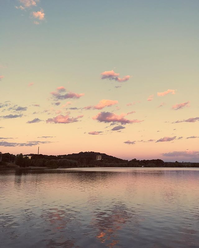 Pastel hues from another dreamy evening