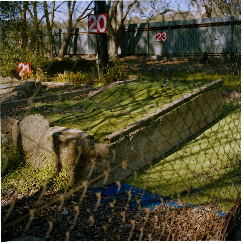 Hole 20 at the failed mini golf course (2008)