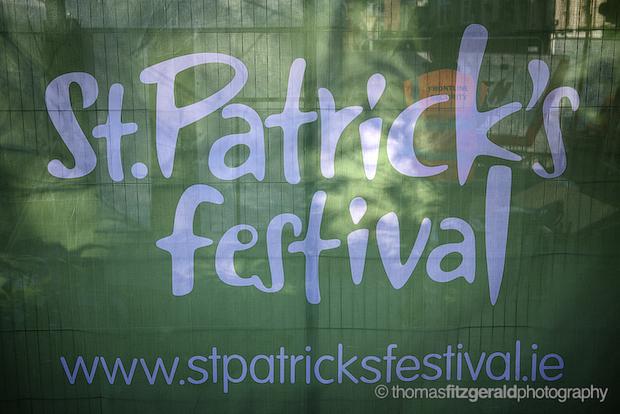 St. Patricks Festival Banner