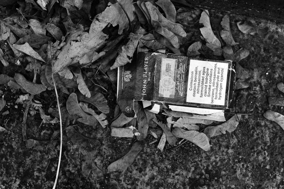 Abandoned Cigerette Pack