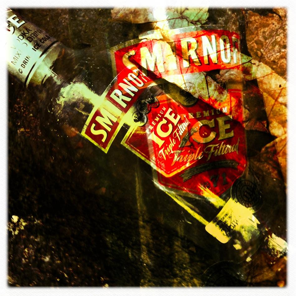Abandoned smirnoff