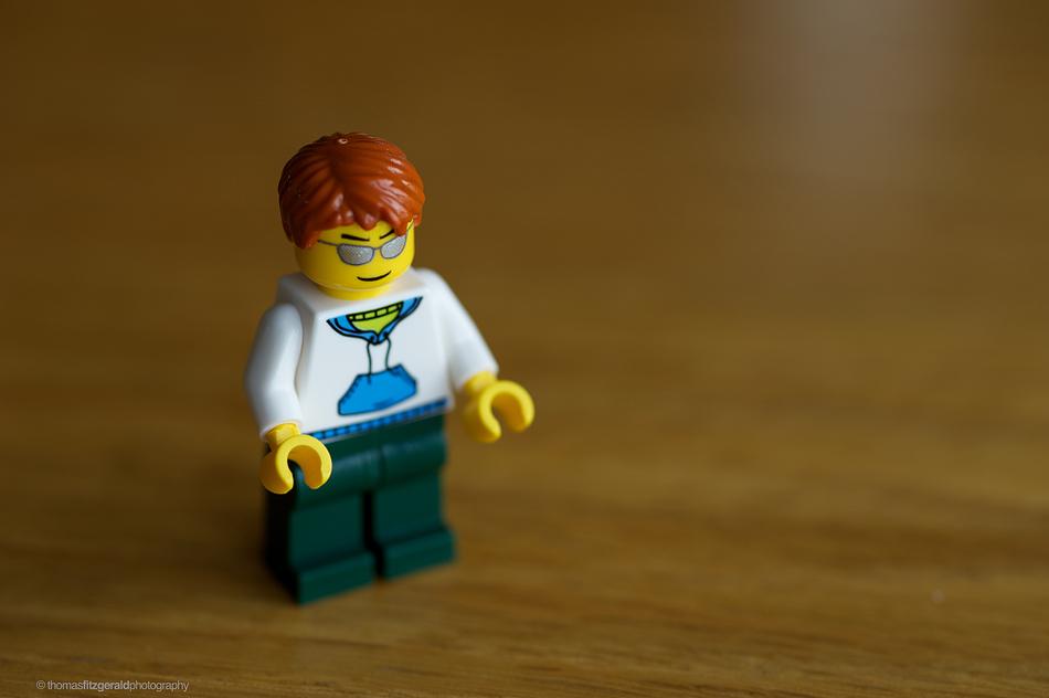 Lego Man - Nikon 105mm Macro