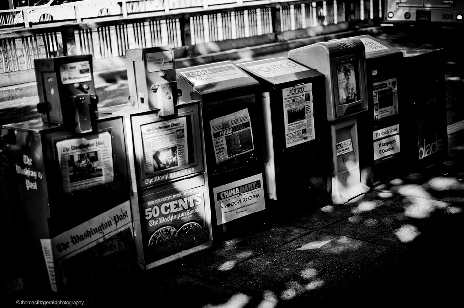 Newspaper Boxes - Washington DC