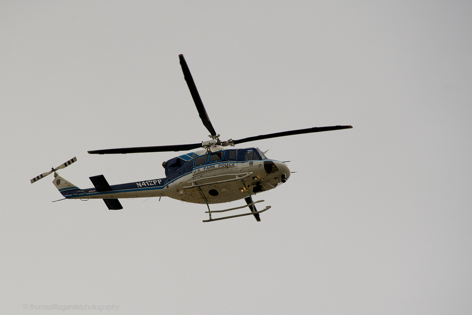 Police Helicopter - Nikon D700, 28-300mm