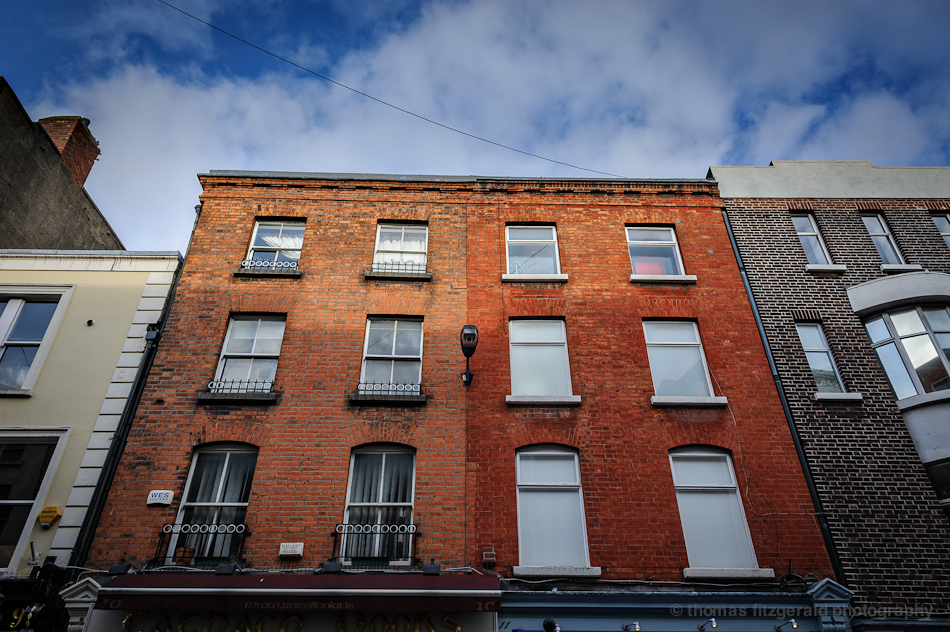Red Bricked Dublin Buildings