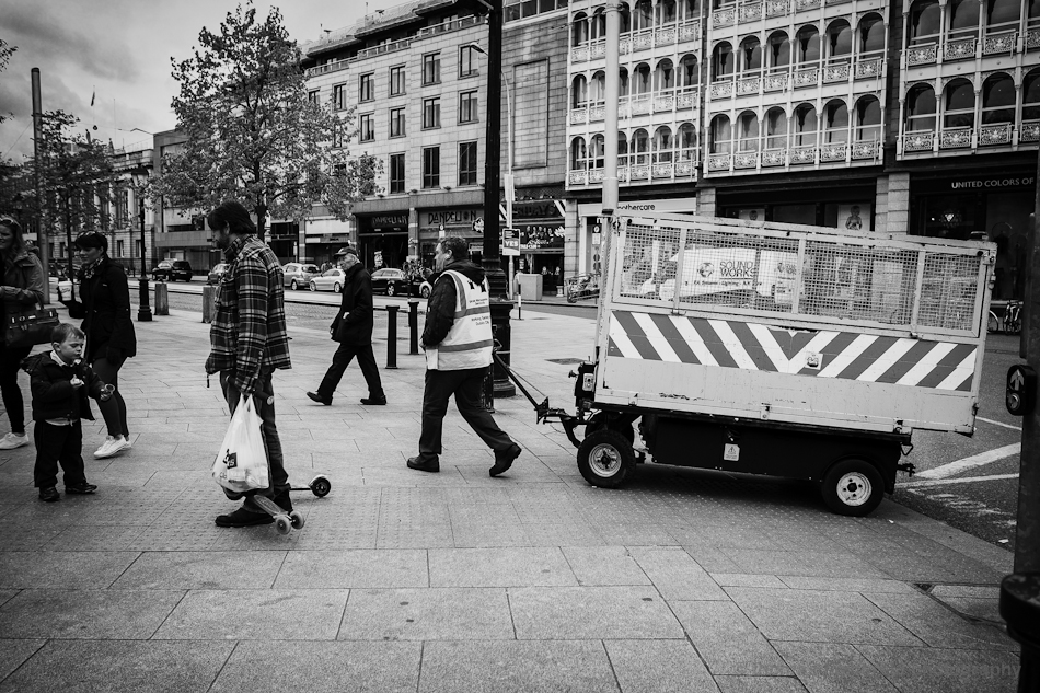 street cleaner Fujifilm X-Pro1