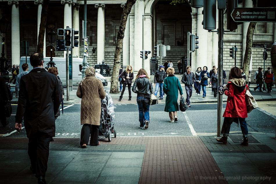 crossing dame street