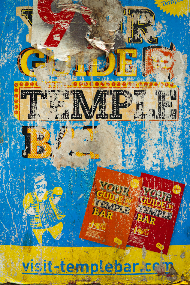 Old Temple Bar Poster  - Fuji X-Pro1 and Fujinon 60mm