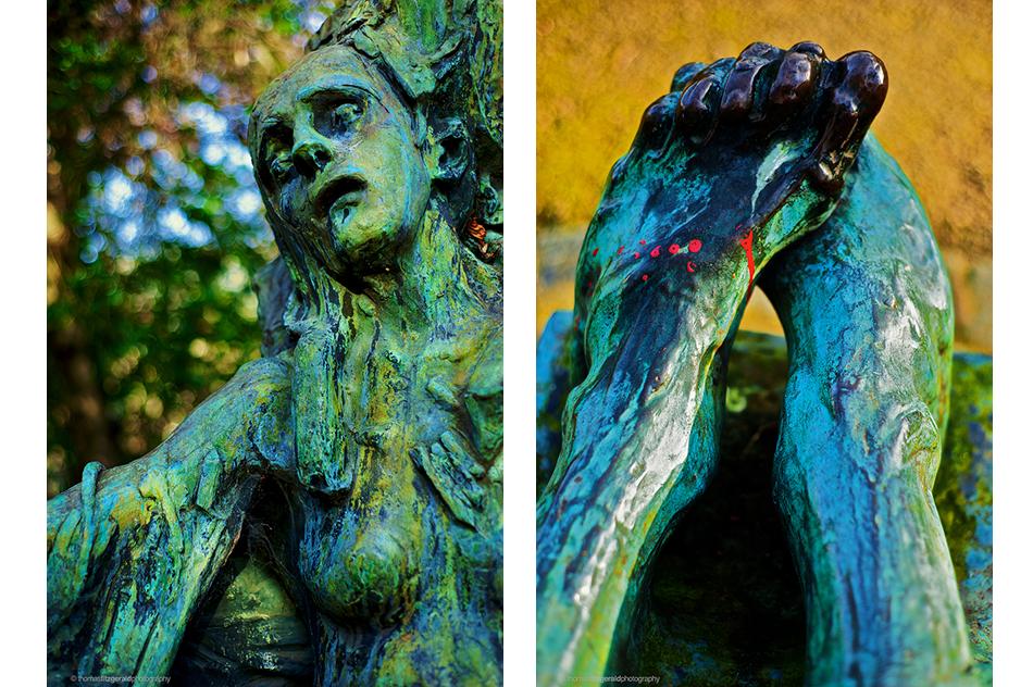 Vivid two statue