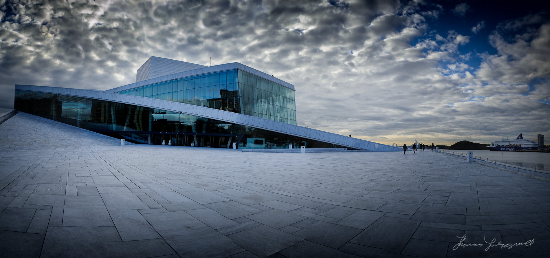 Oslo Opera House Panorama