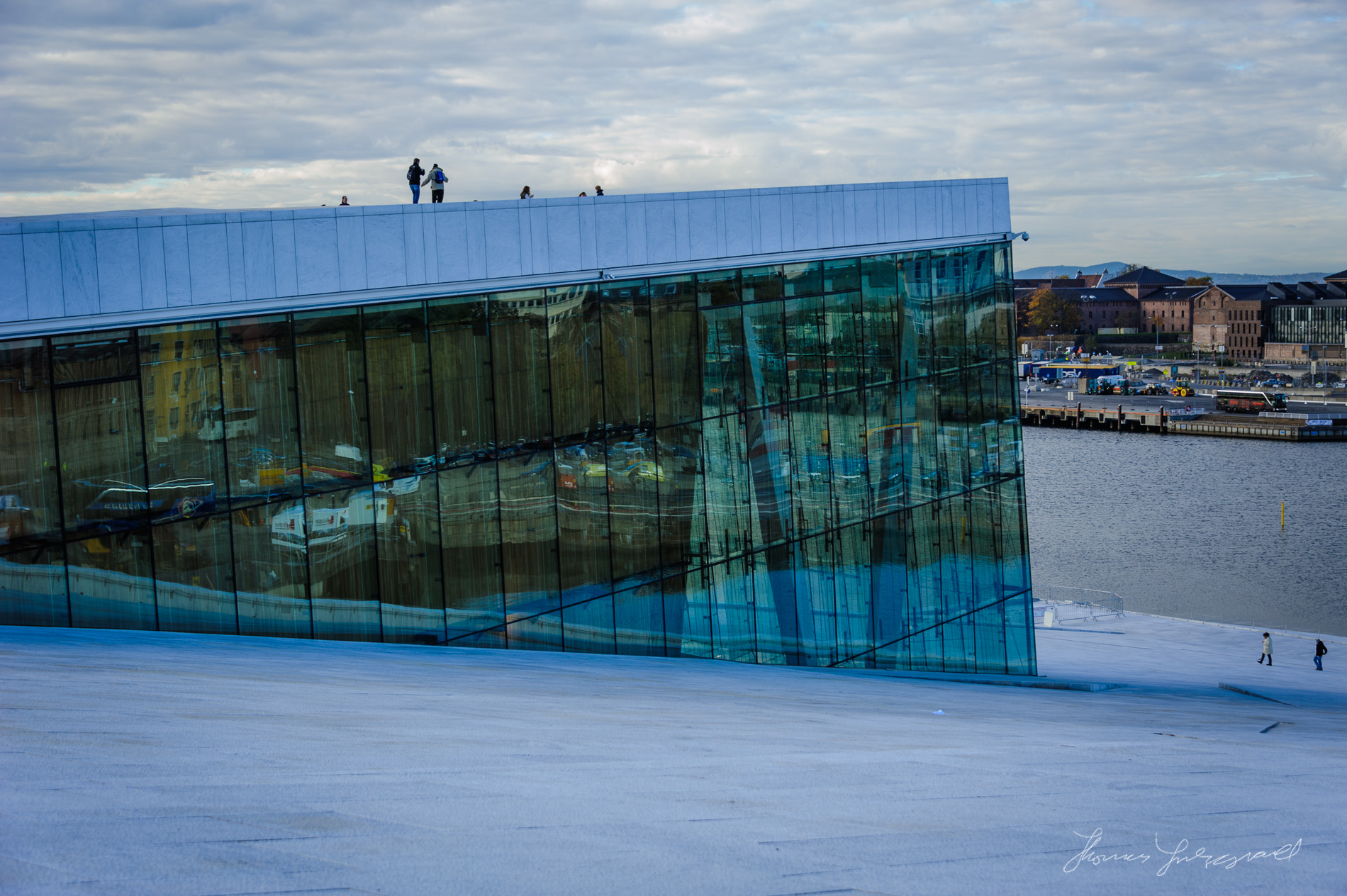 Oslo Opera House Roof