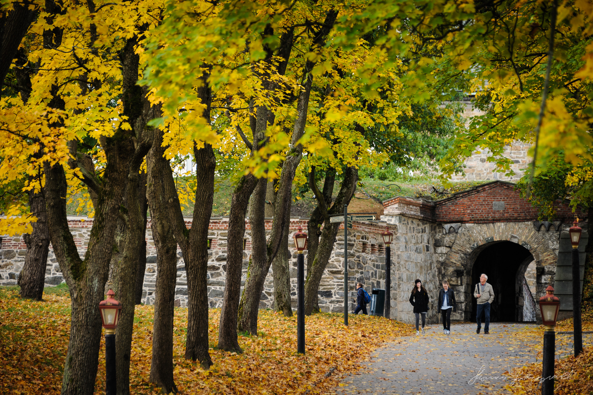Entrance to Oslo Fortress