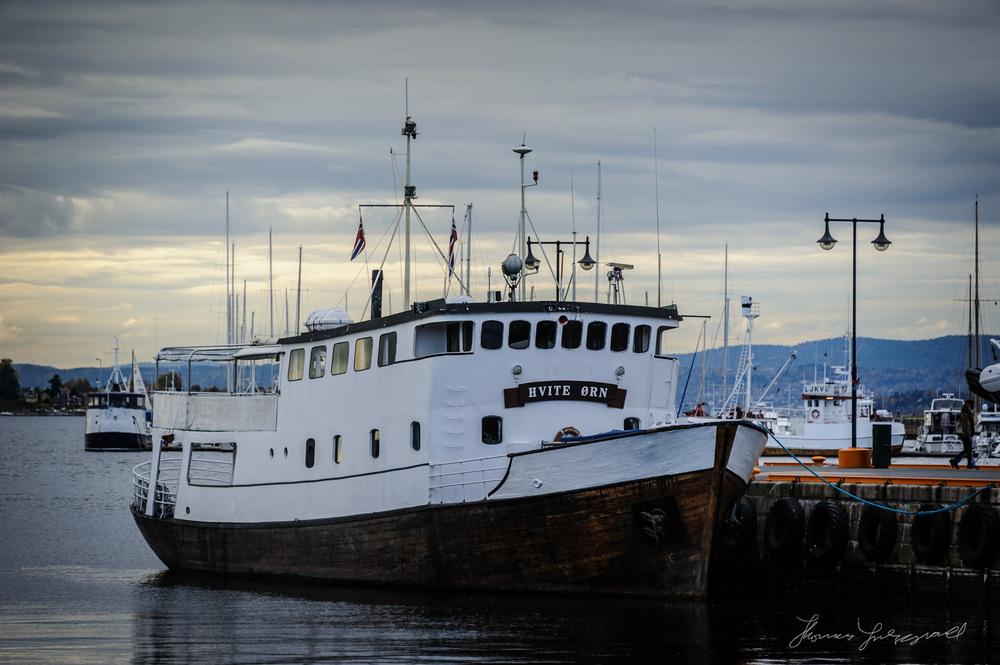 Boat Docked Oslo