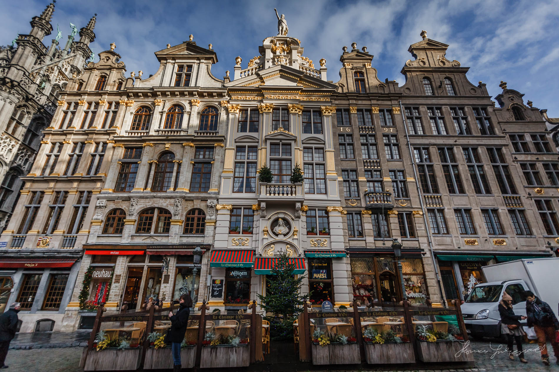 Grand Place Buildings
