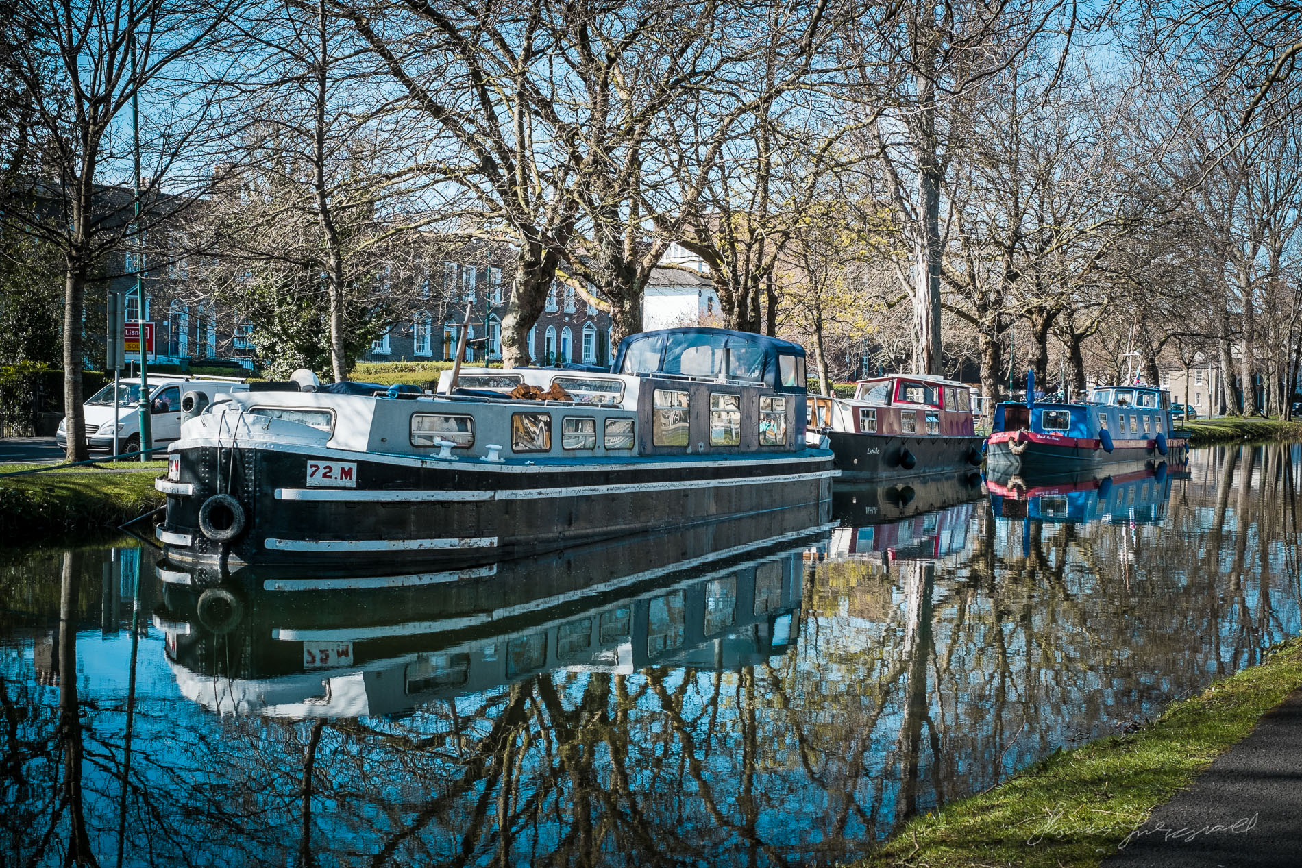 Barges in the Sunshine - Fuji XE1
