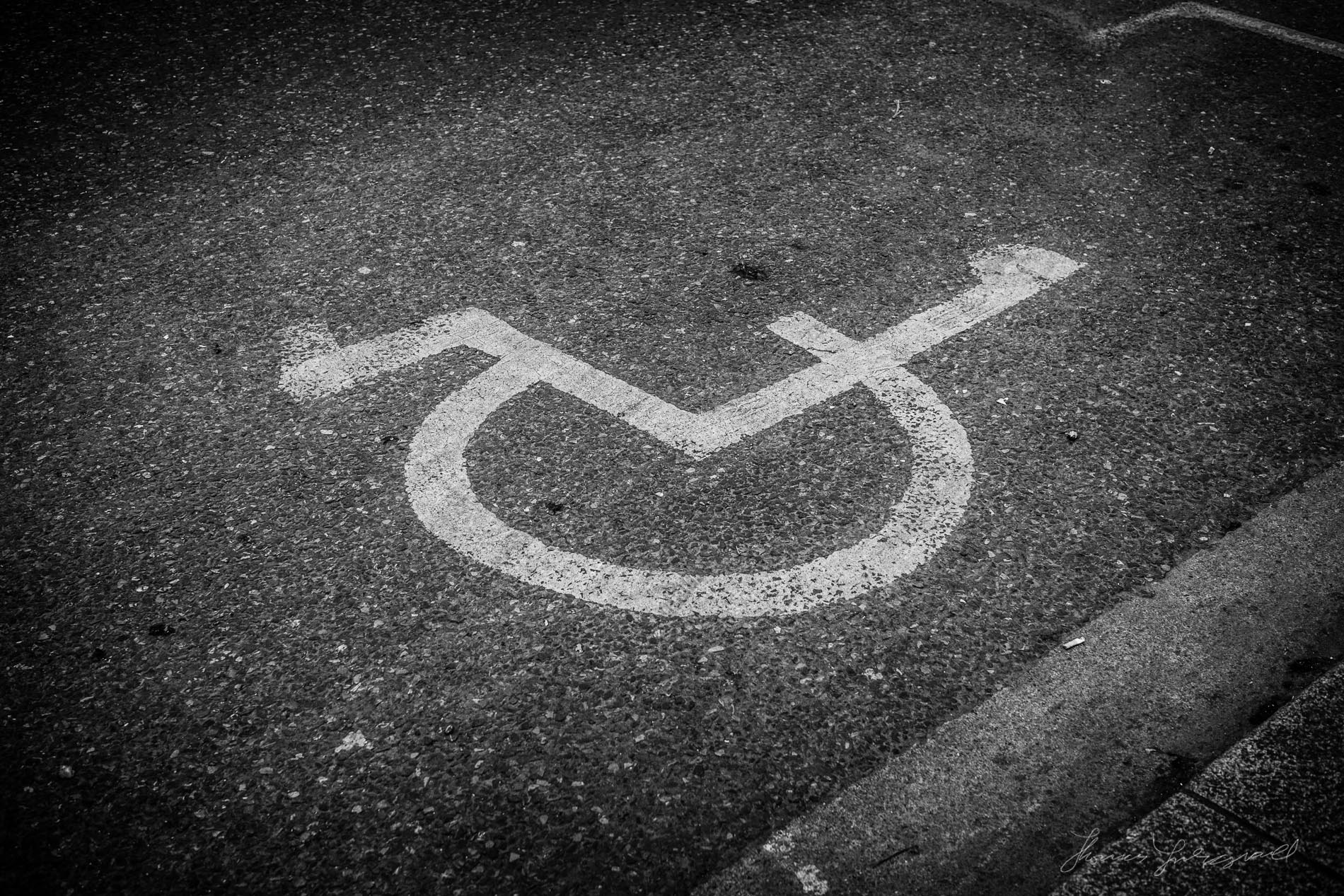 Wheel Chair Sign