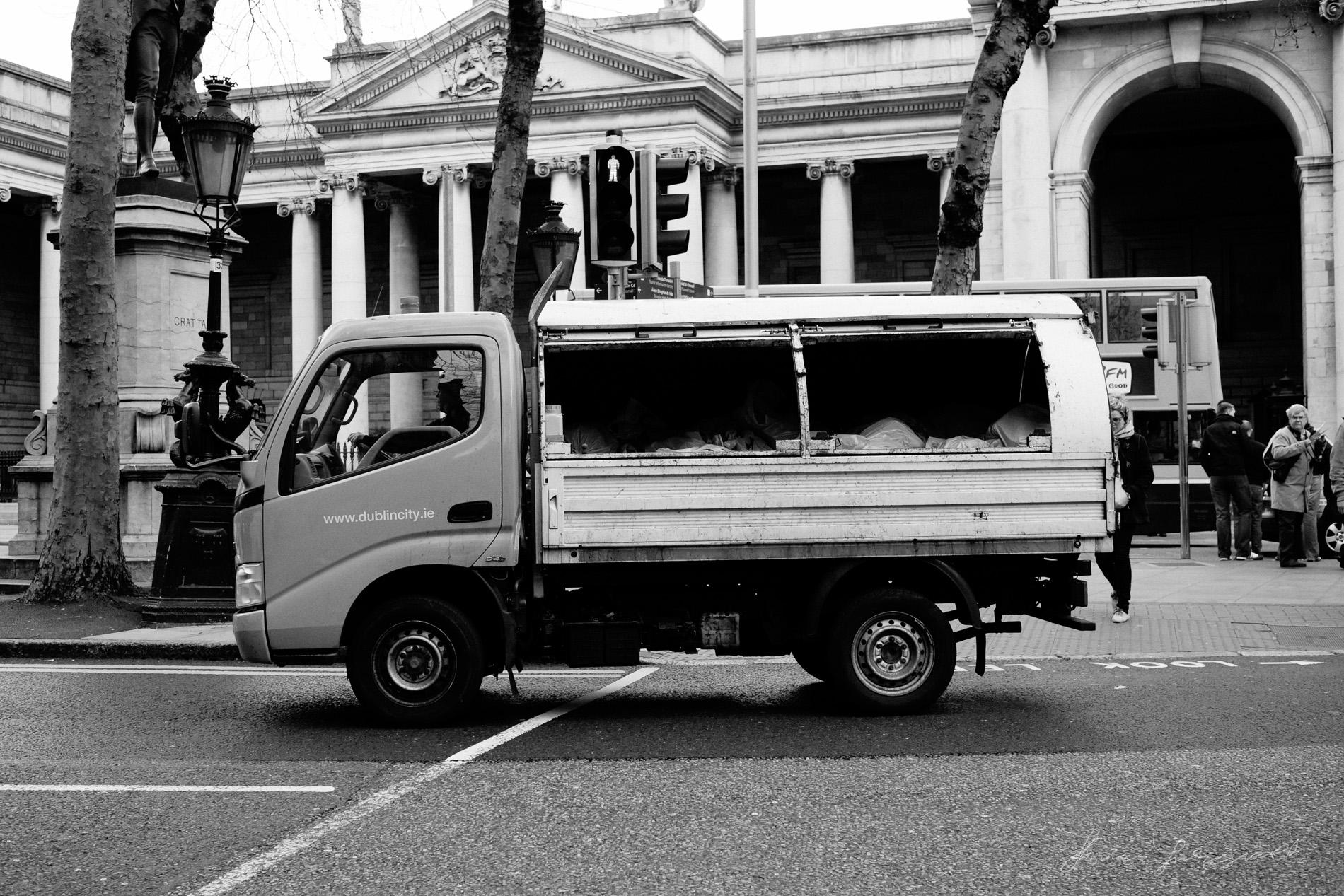 Rubbish Van