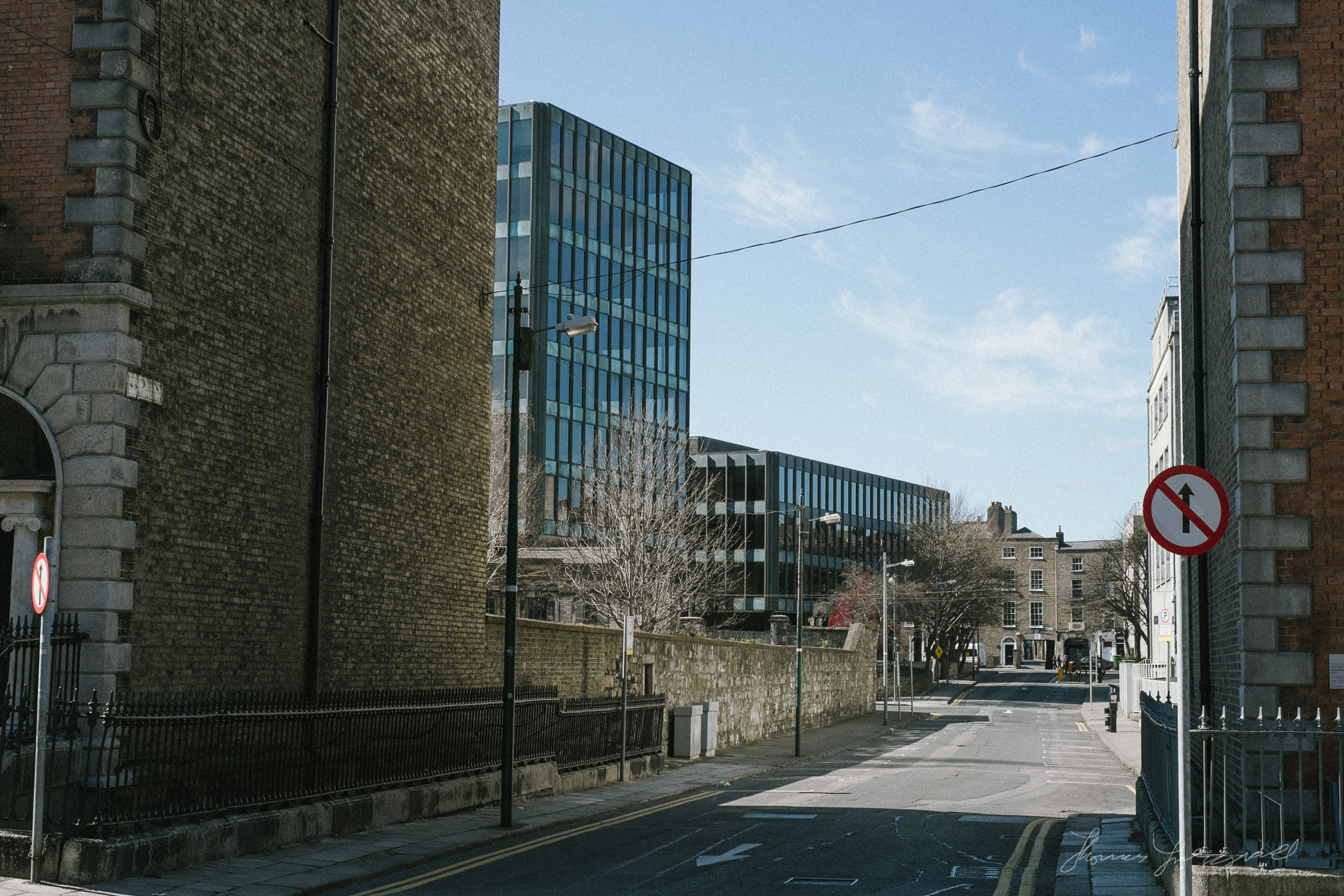 Empty Street on Mount Street
