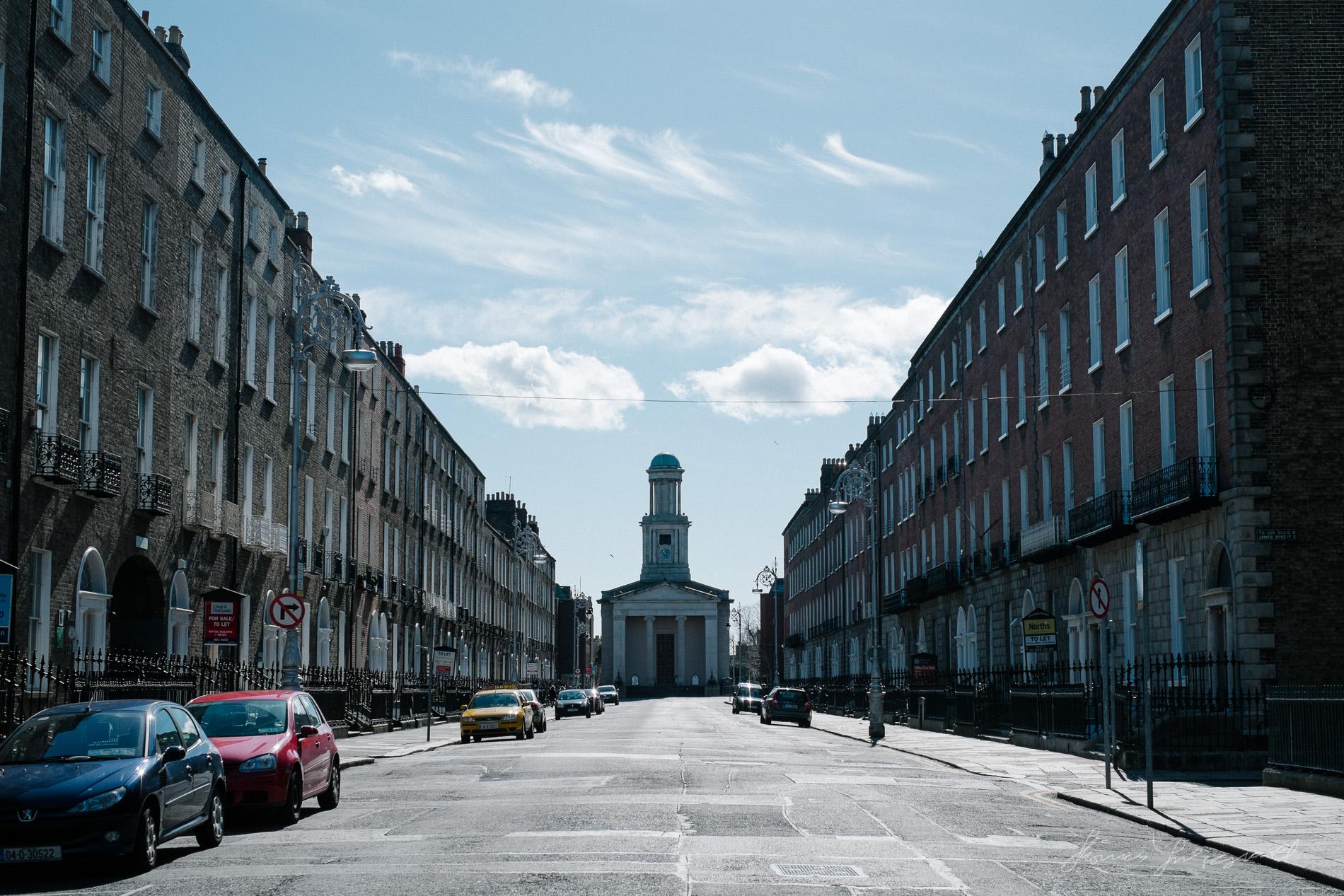 An Empty Mount Street