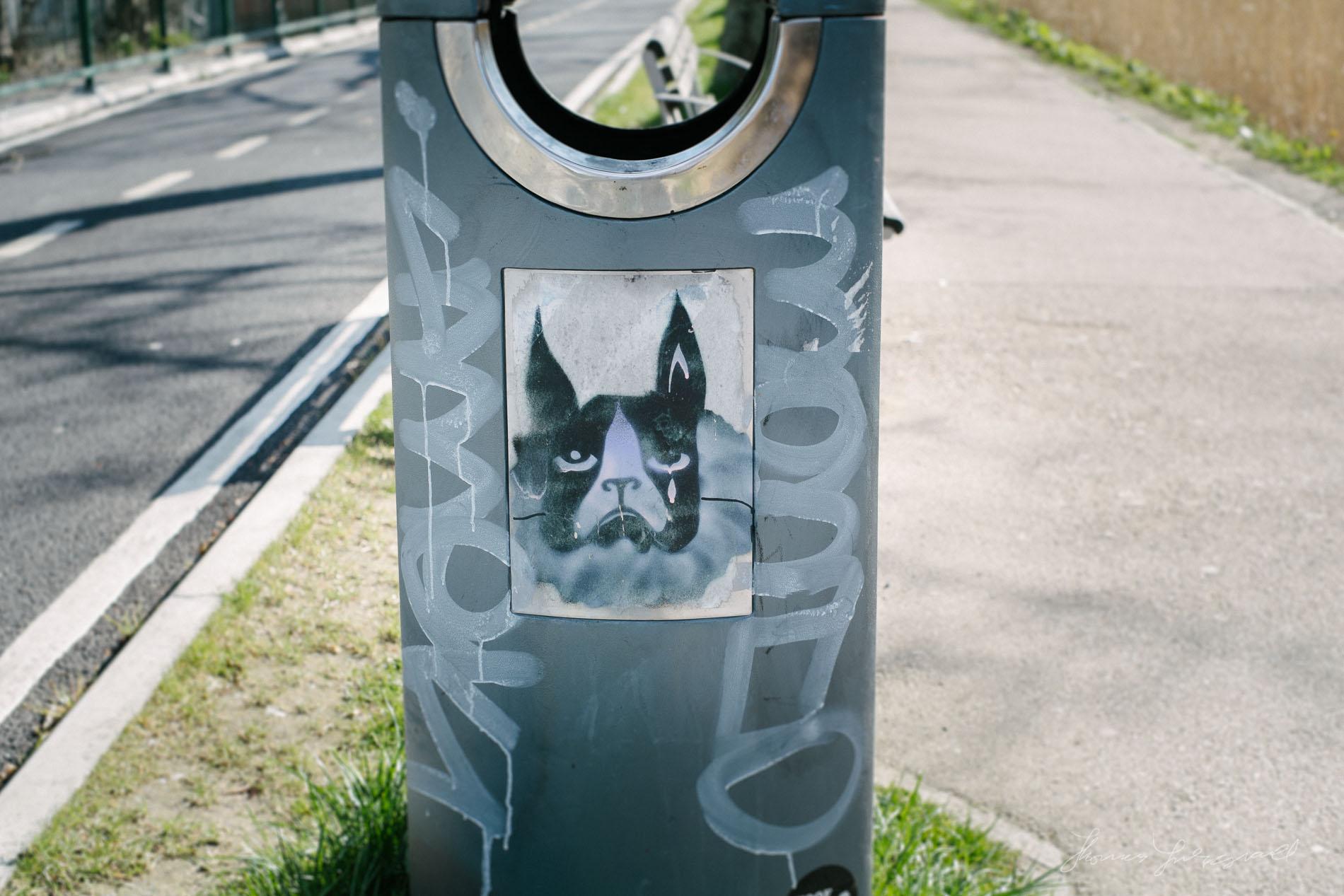 Dog Street Art - Fuji XE-1