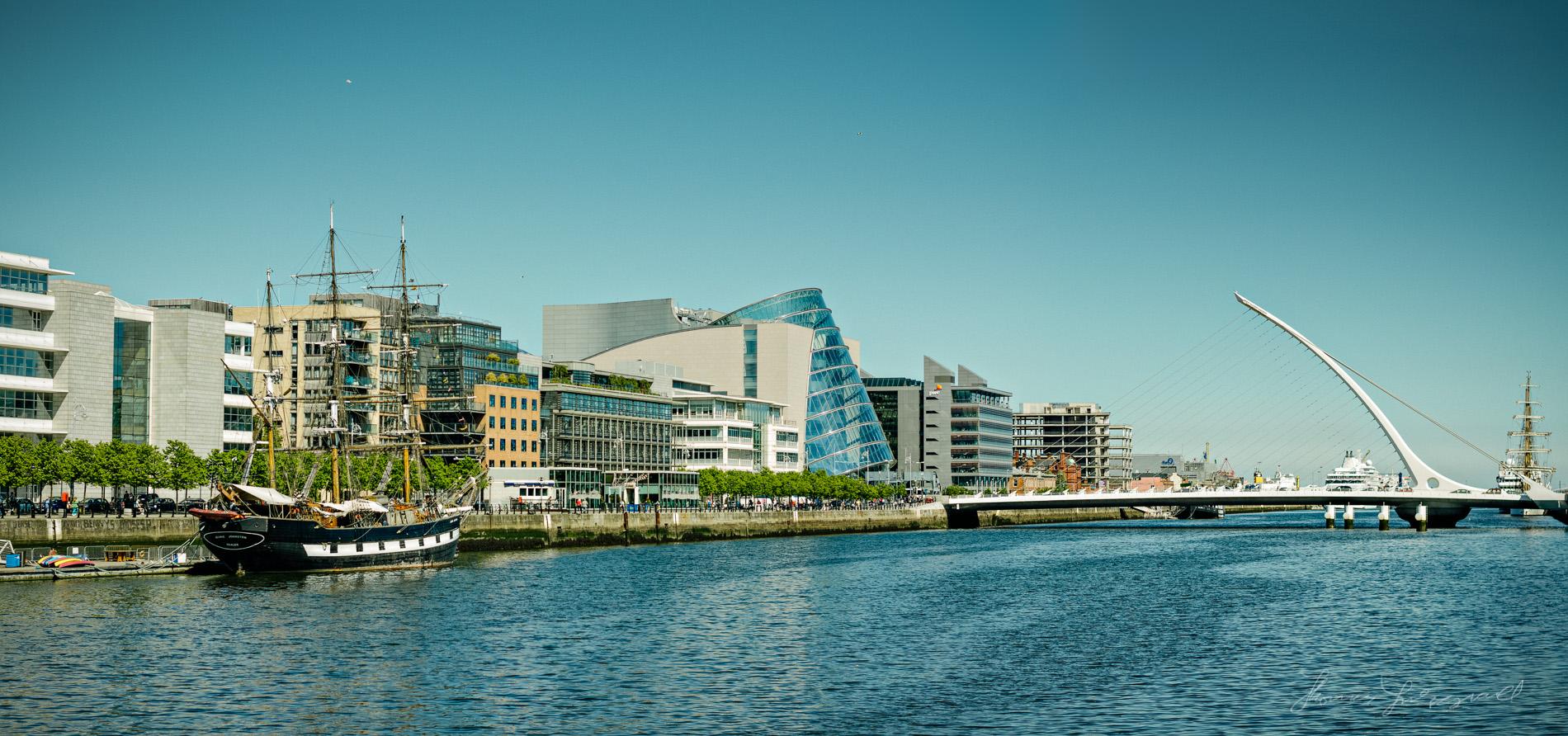Dublin Docklands Skyline Panorama