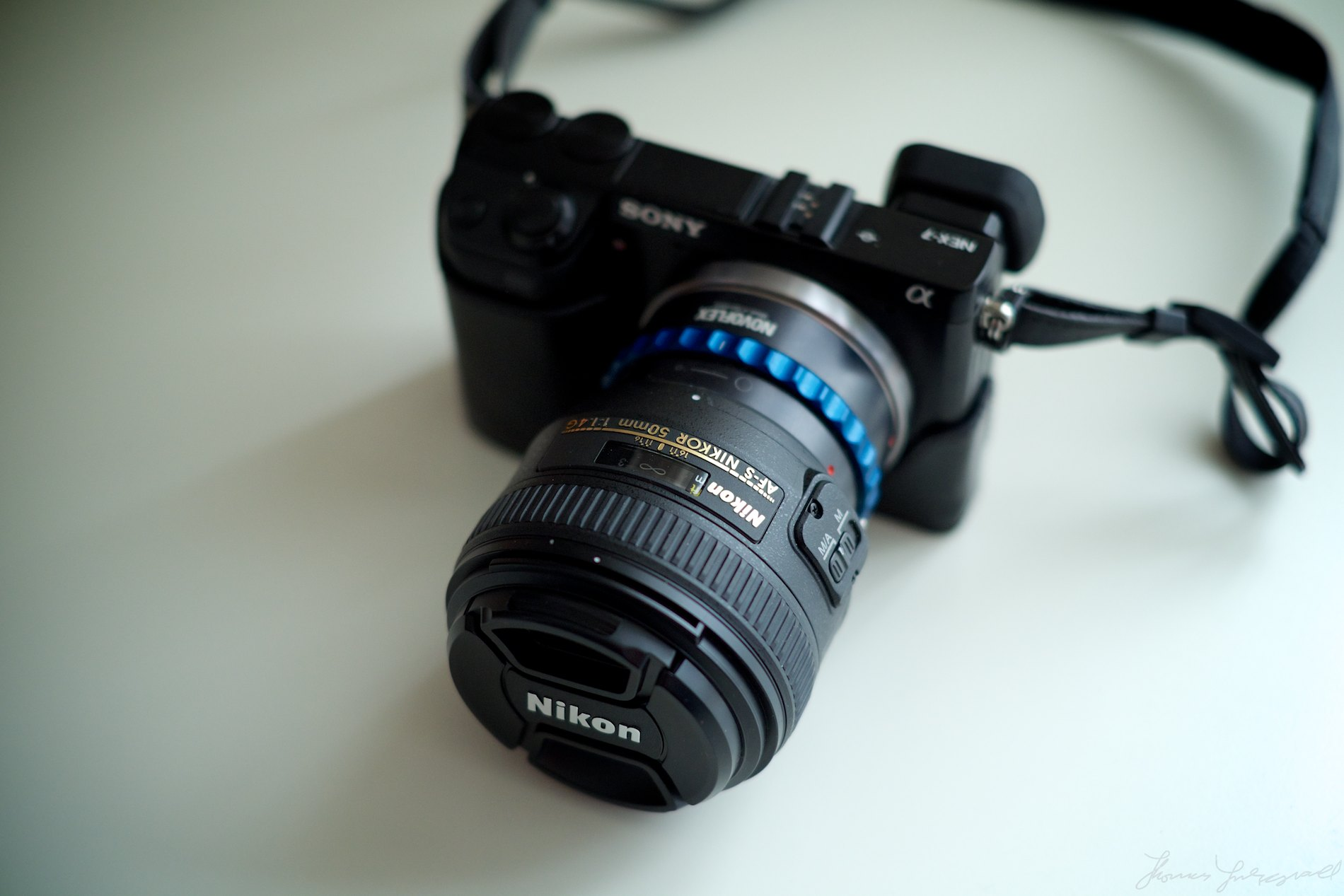 Sony Nex-7 and Nikon 50mm f/1.4 G