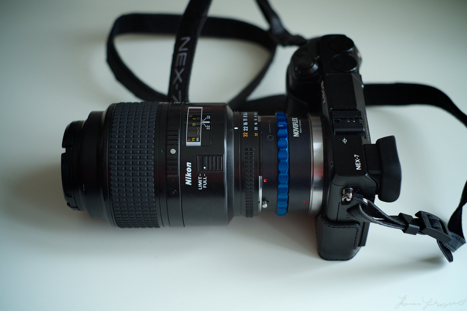Nikon 105mm Macro on Sony Nex 7